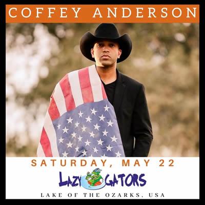 Coffey Anderson Concert - May 22, 2021