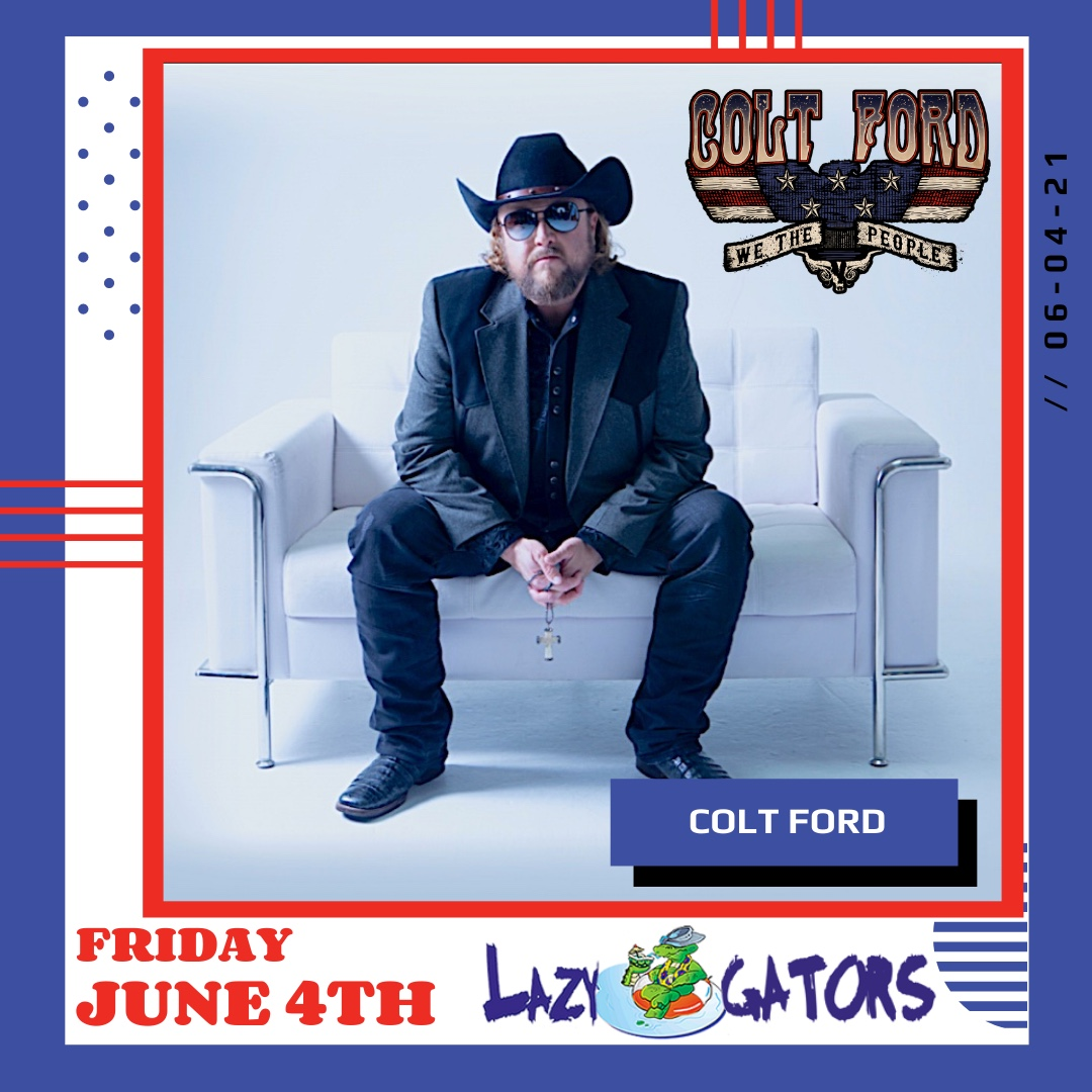 Colt Ford 2021 Announce