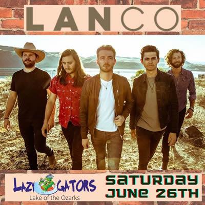 LANCO June 26, 2021 @ Lazy Gators